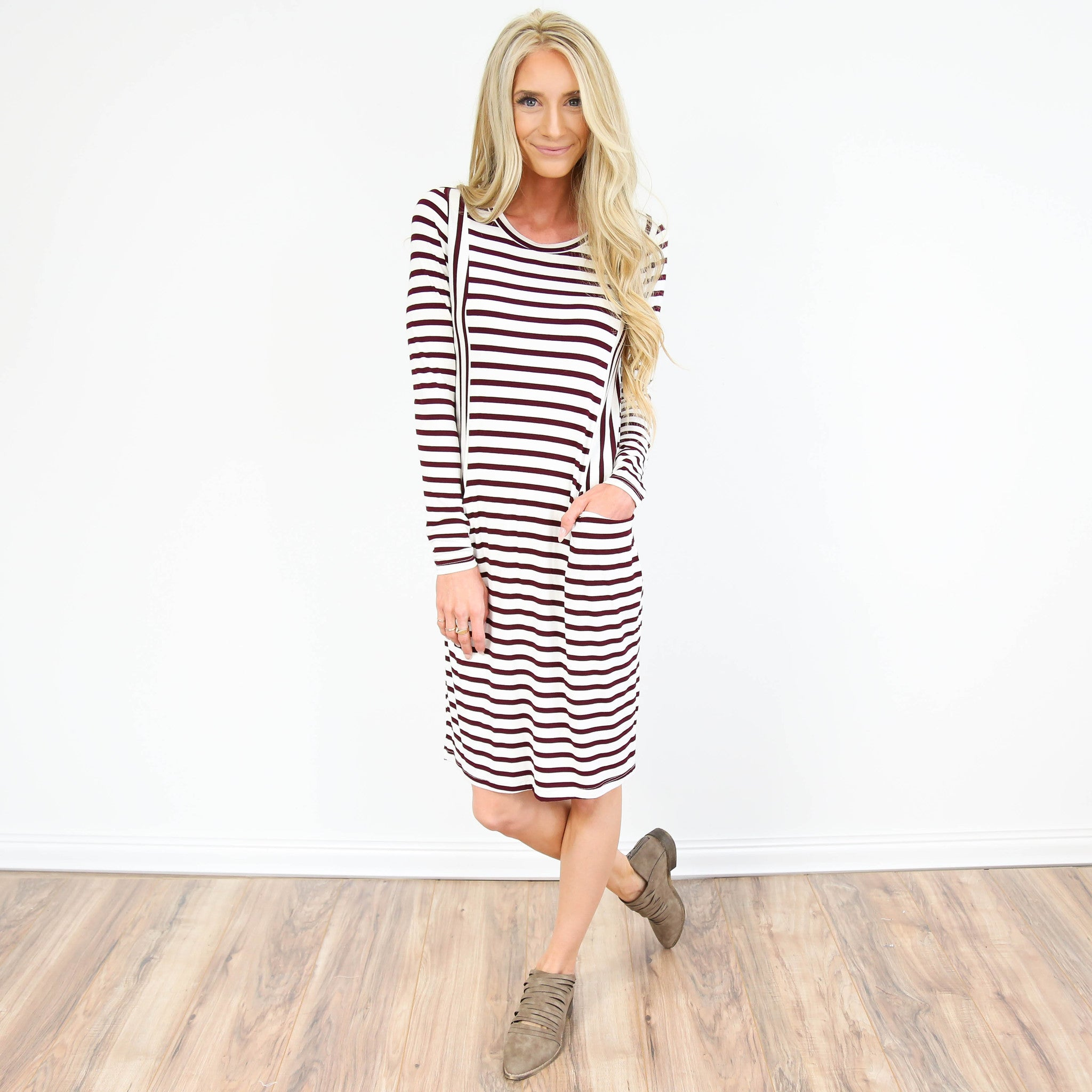 Janie Stripe Dress