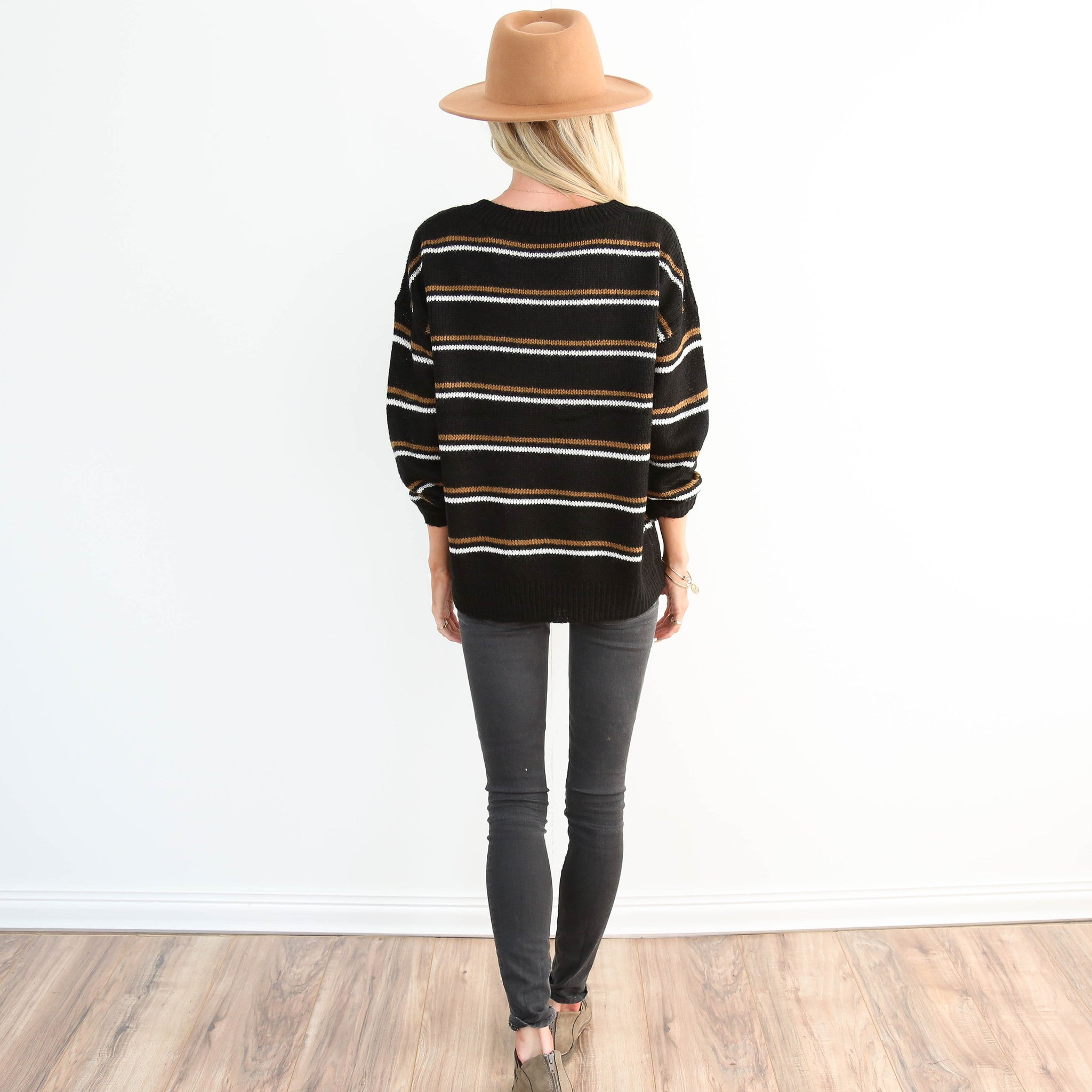 Mico Stripe Sweater