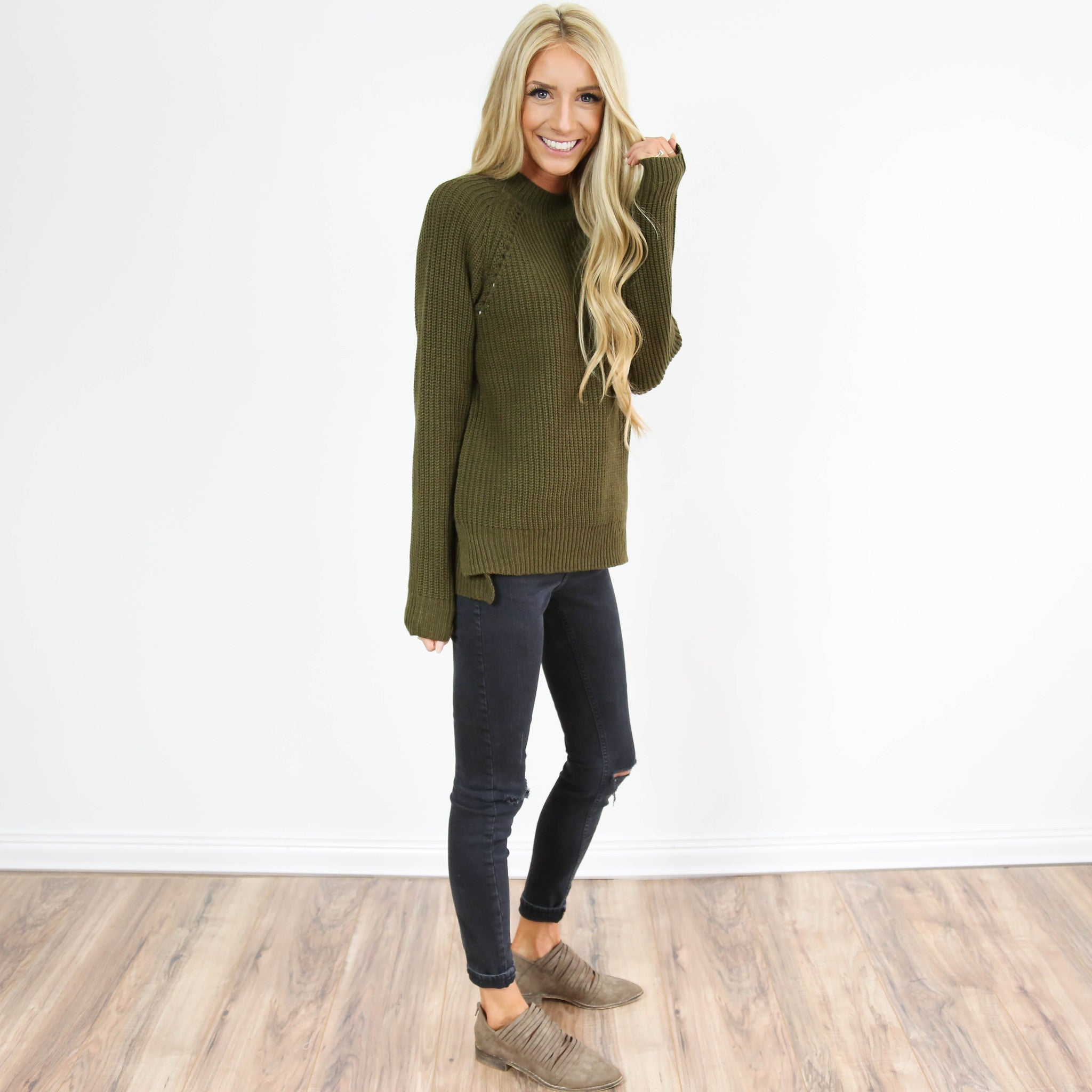 Carolina Turtle Neck Sweater