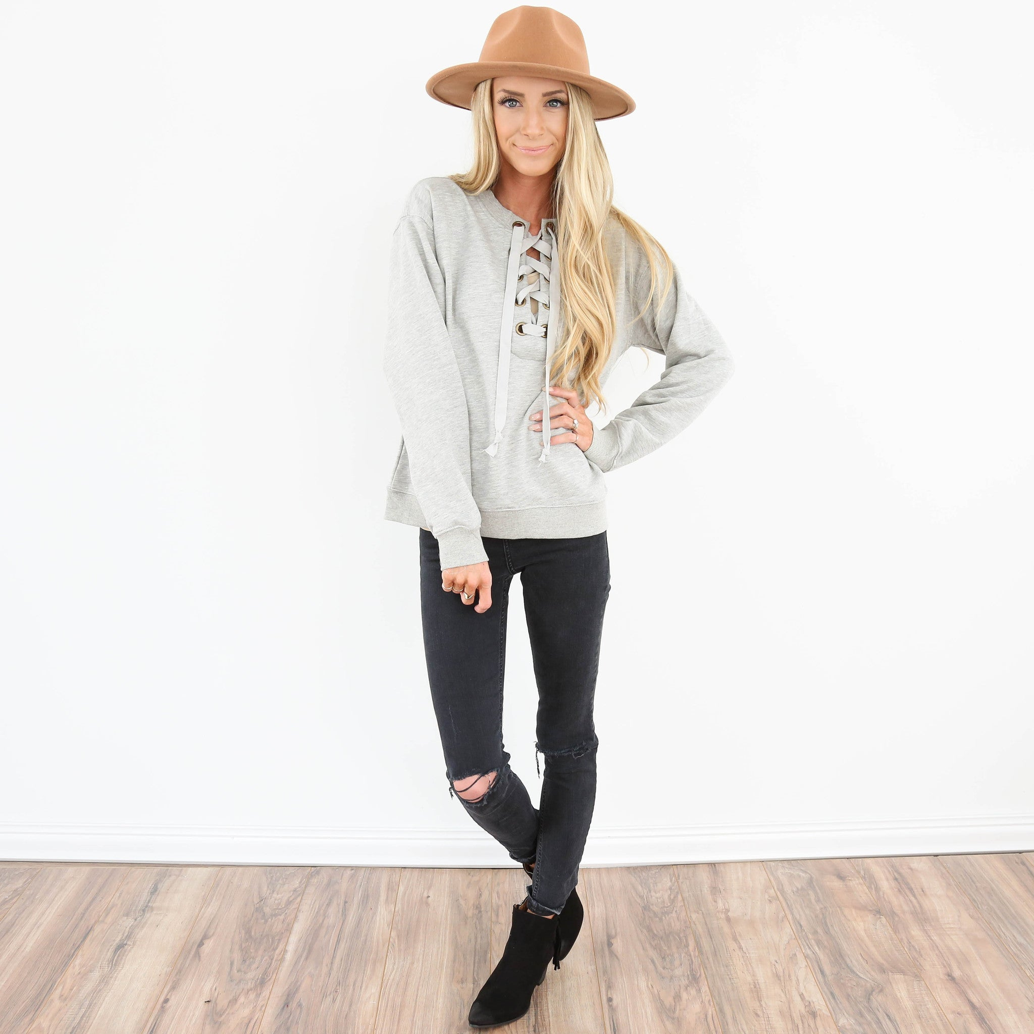 Riley Tie Sweater