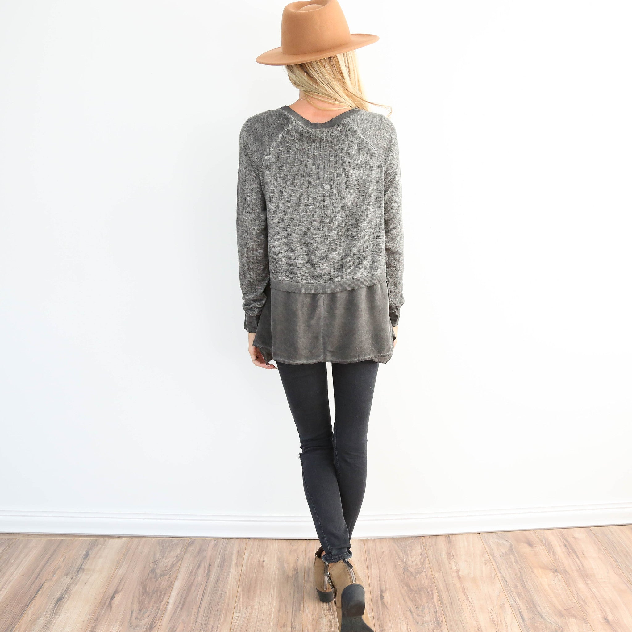 Vista Peplum Sweater