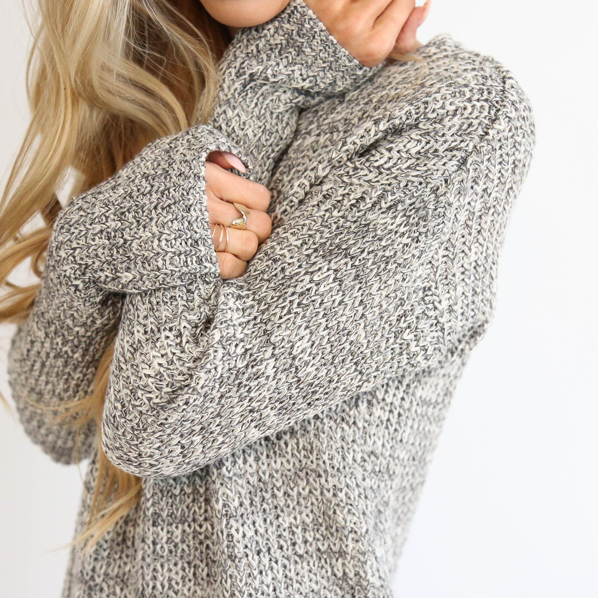 Lumi V-Neck Sweater