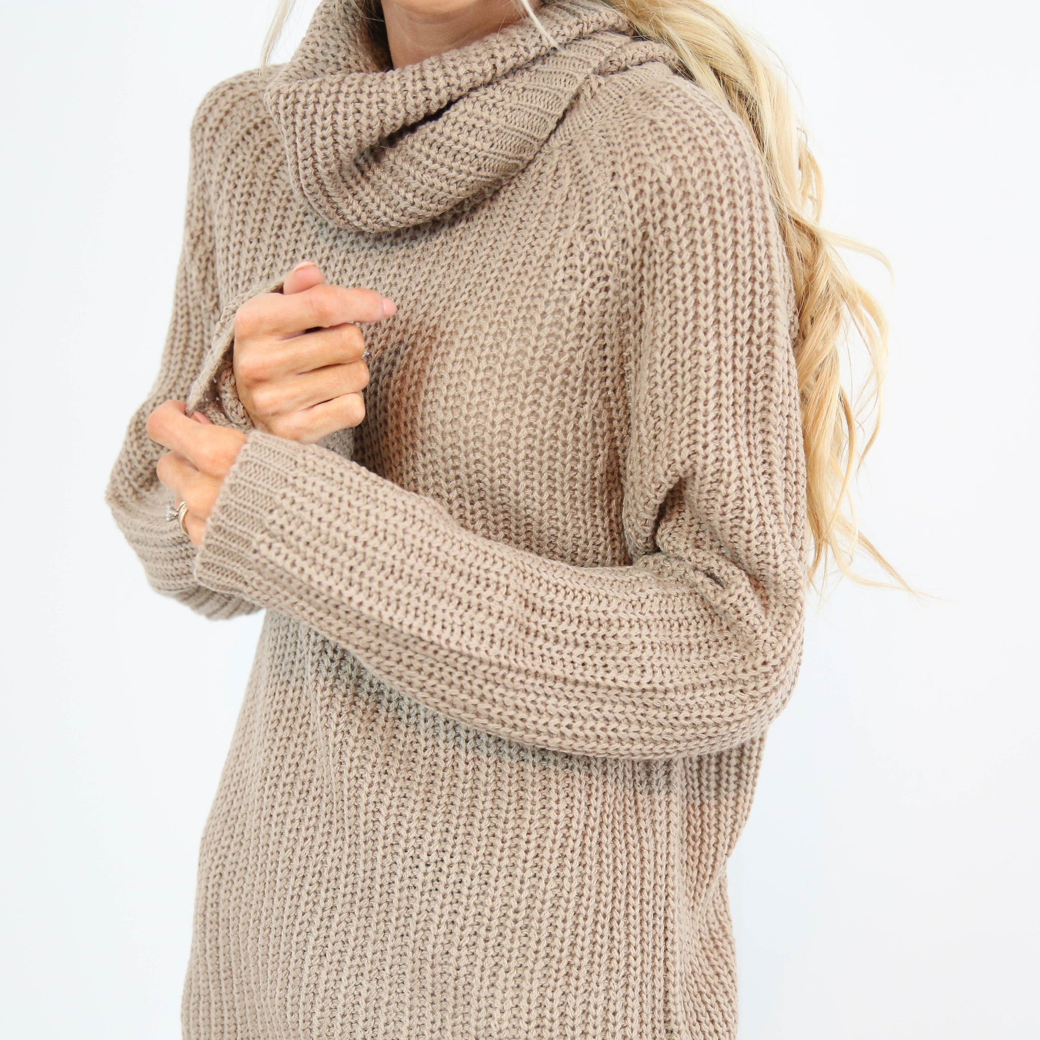 Chunky Knit Turtle Neck
