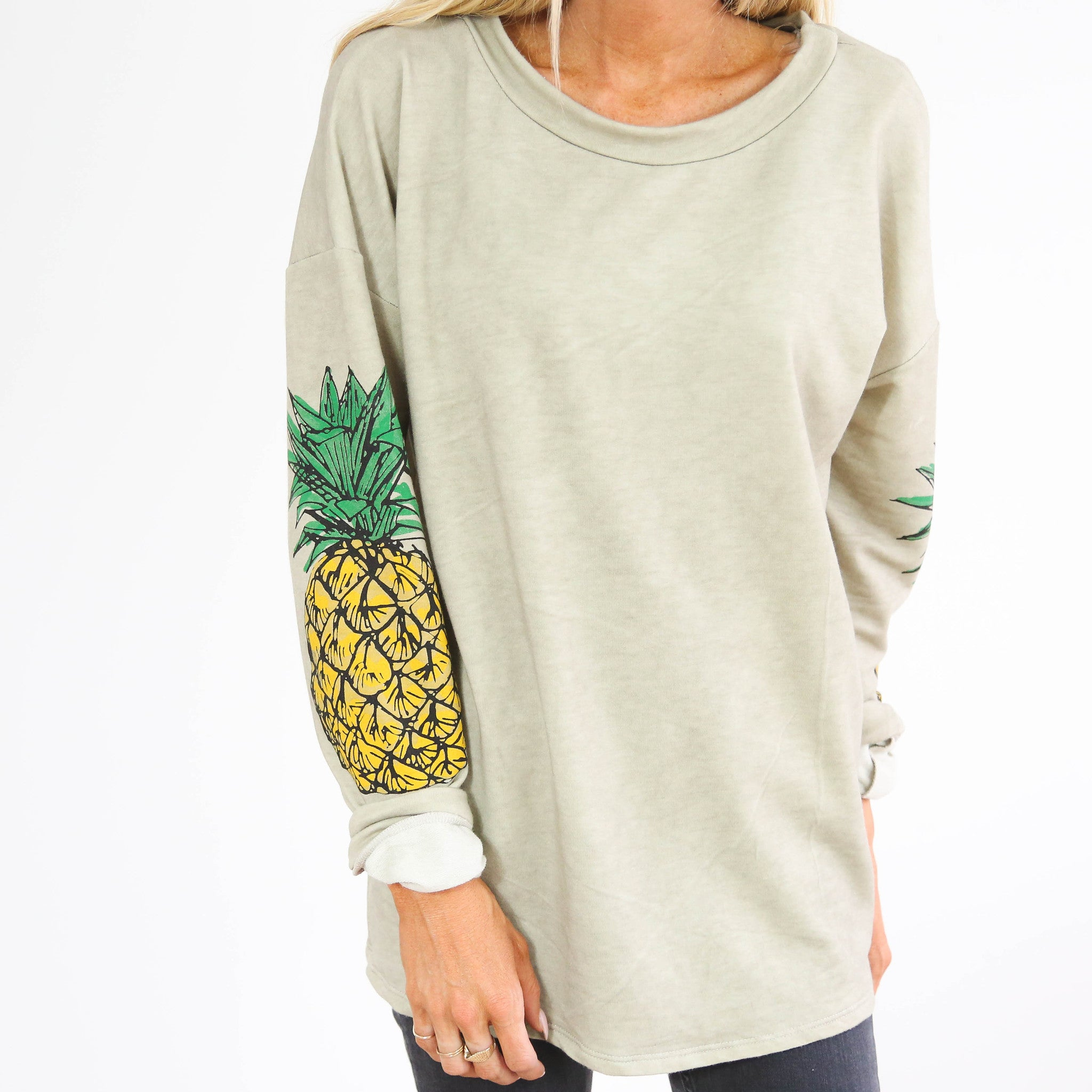 Beach Pineapple Top
