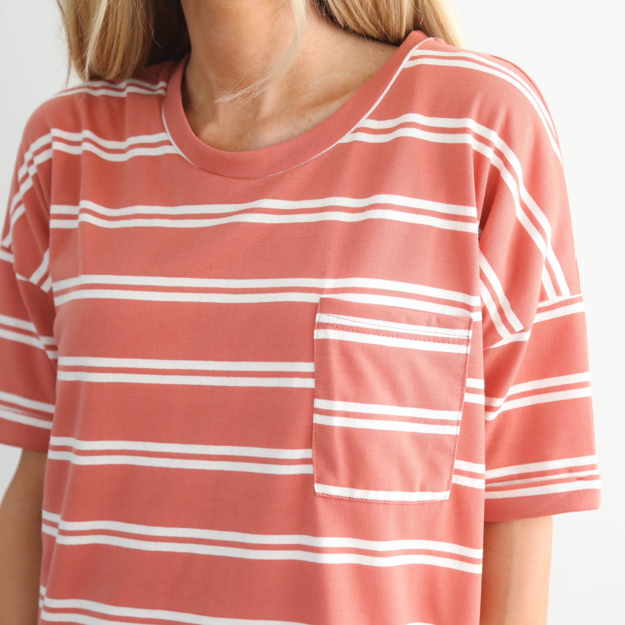 Canna Stripe Top