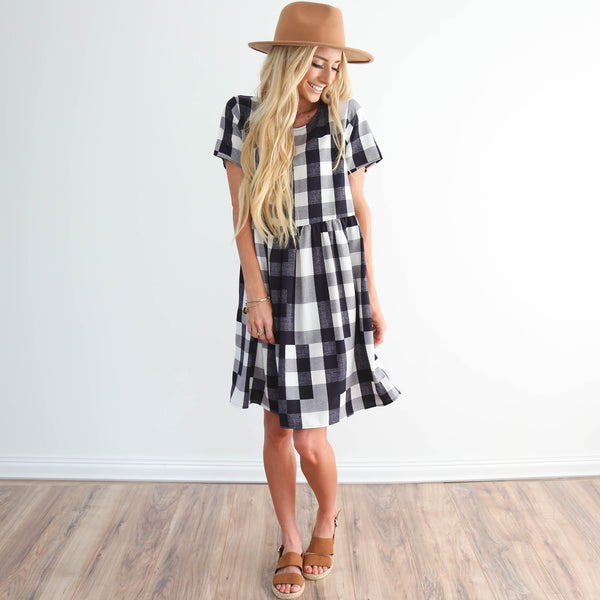 S & Co. Spring Plaid Dress