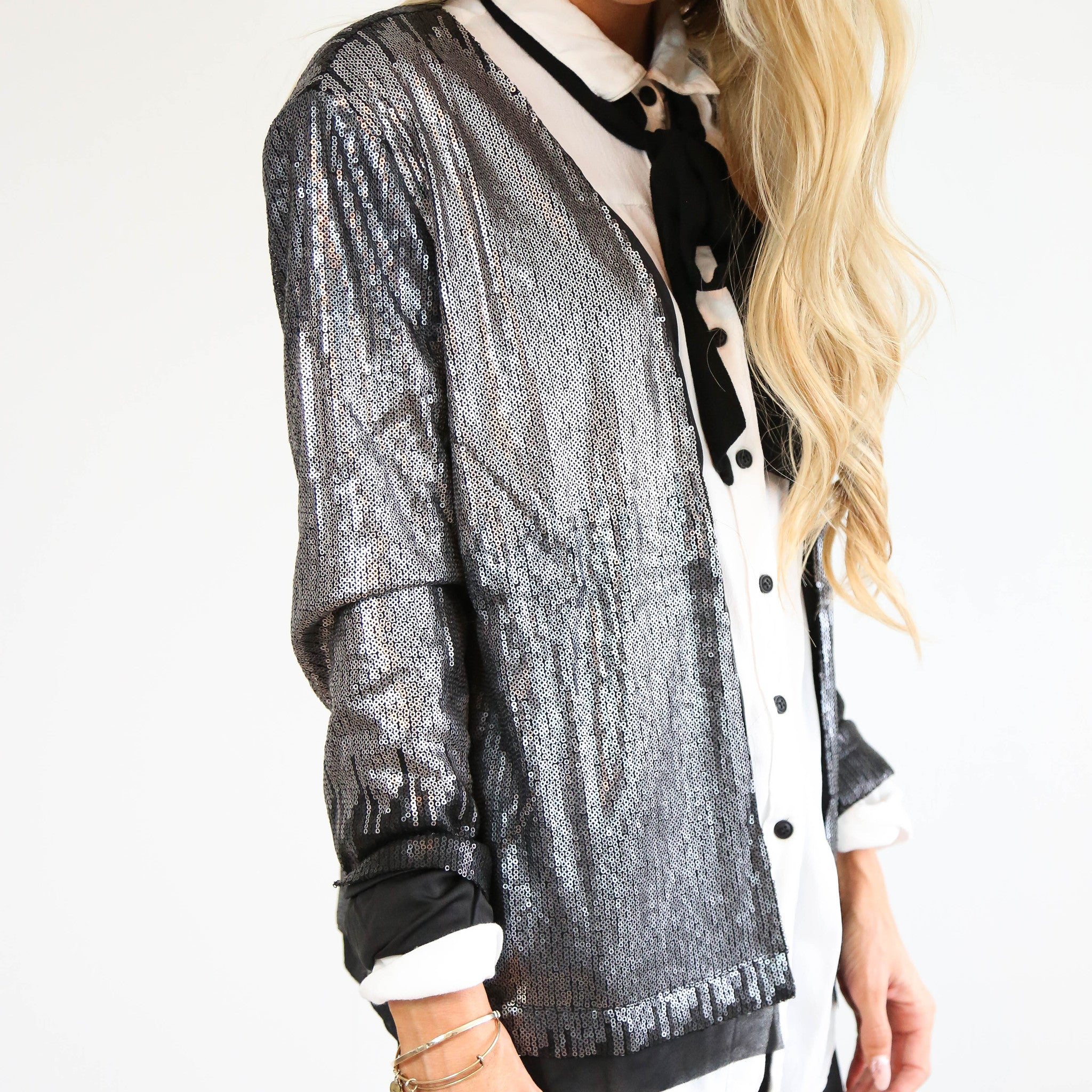 New Year's Eve Sequin Jacket