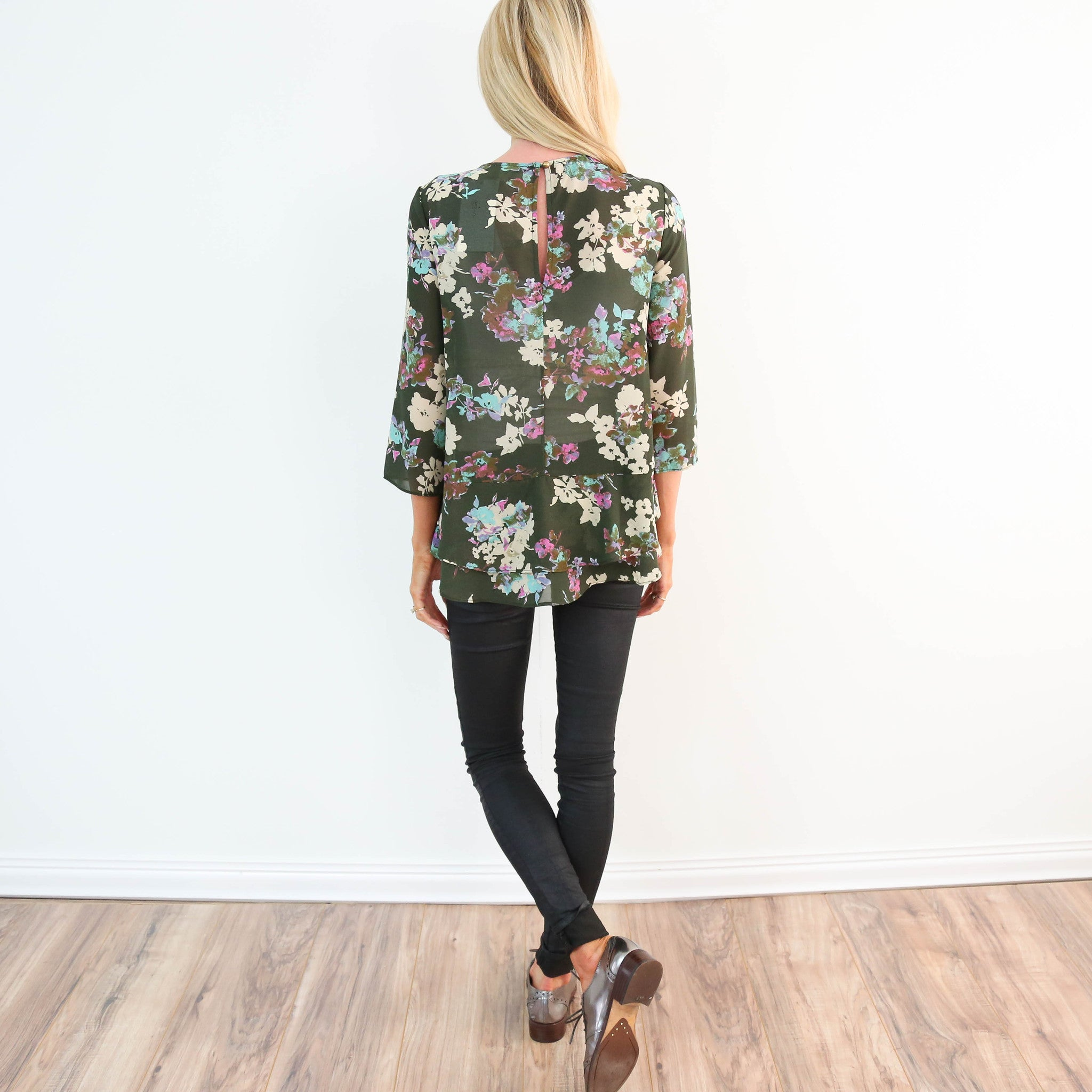 Madrid Floral Top