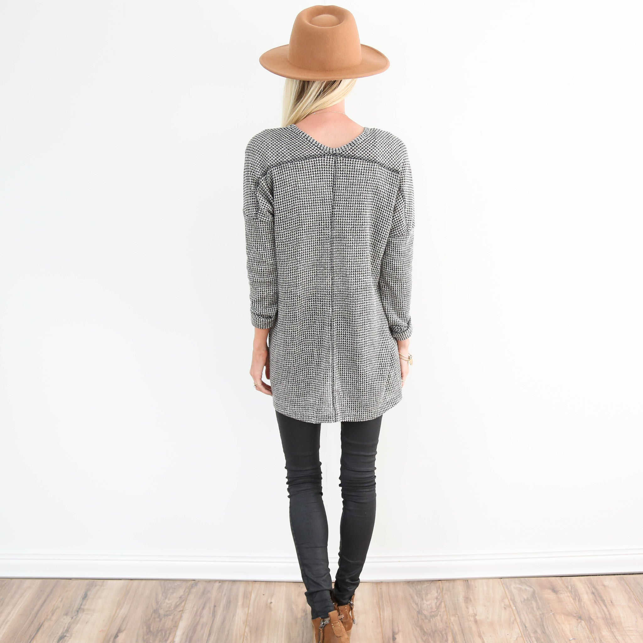 Amis Textured Sweater