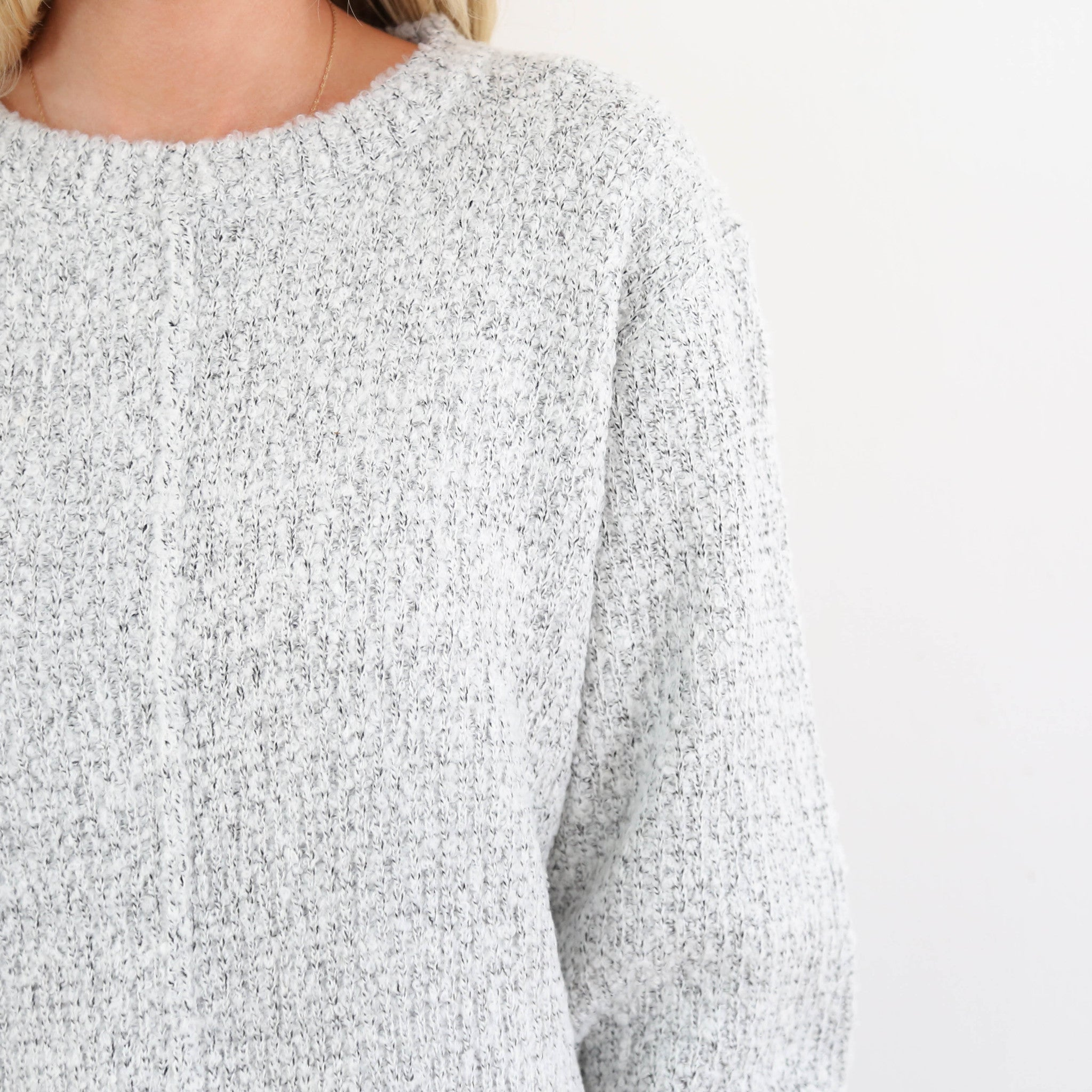Cabin Grey Sweater