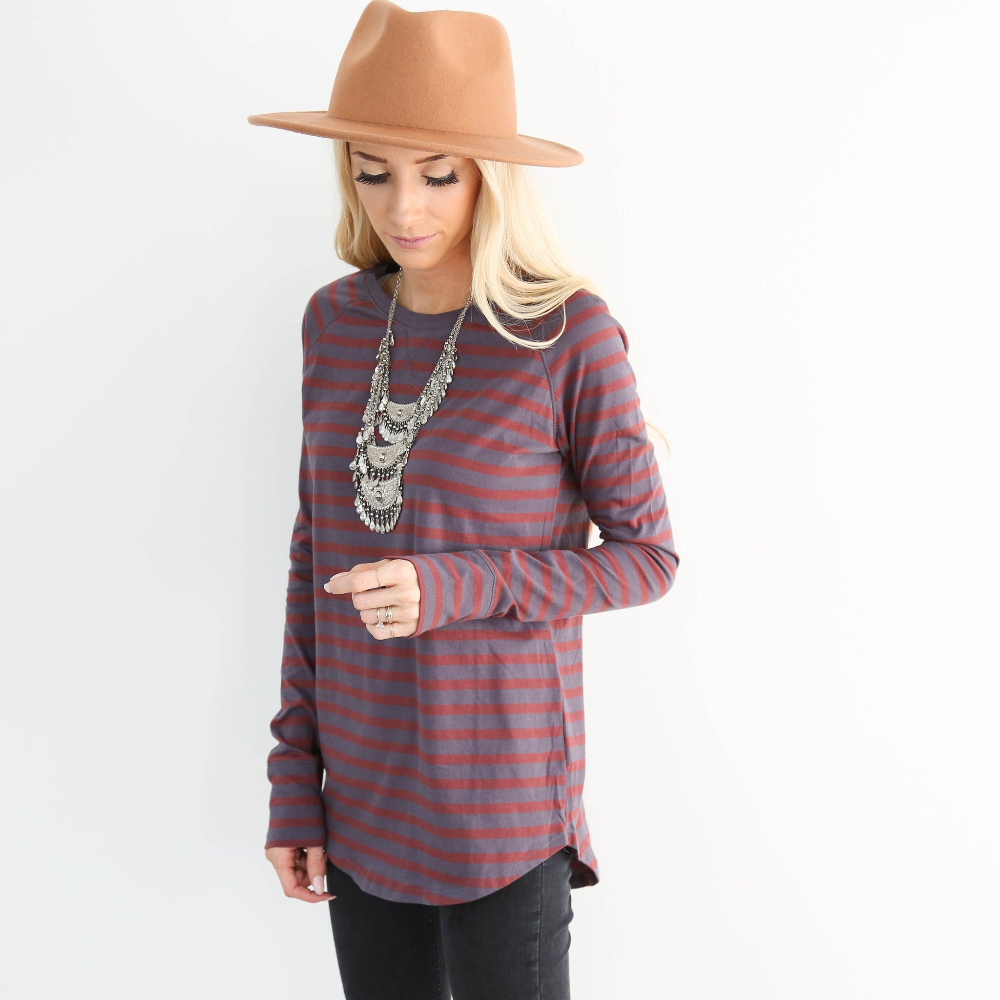 Harmon Stripe Top