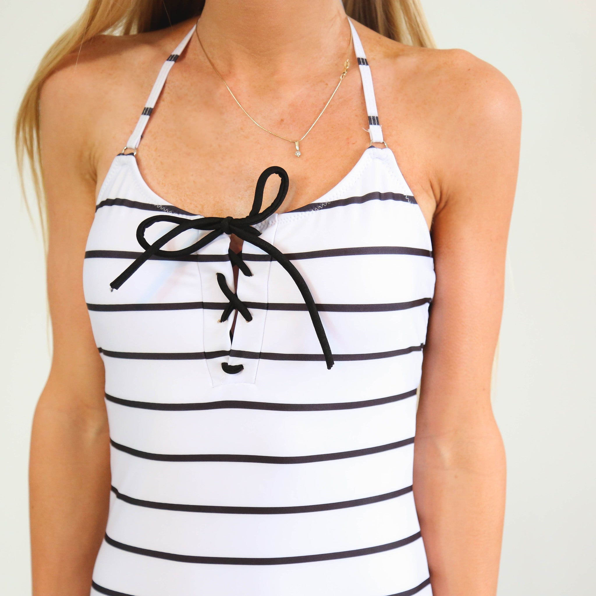Luxe Stripe One Piece