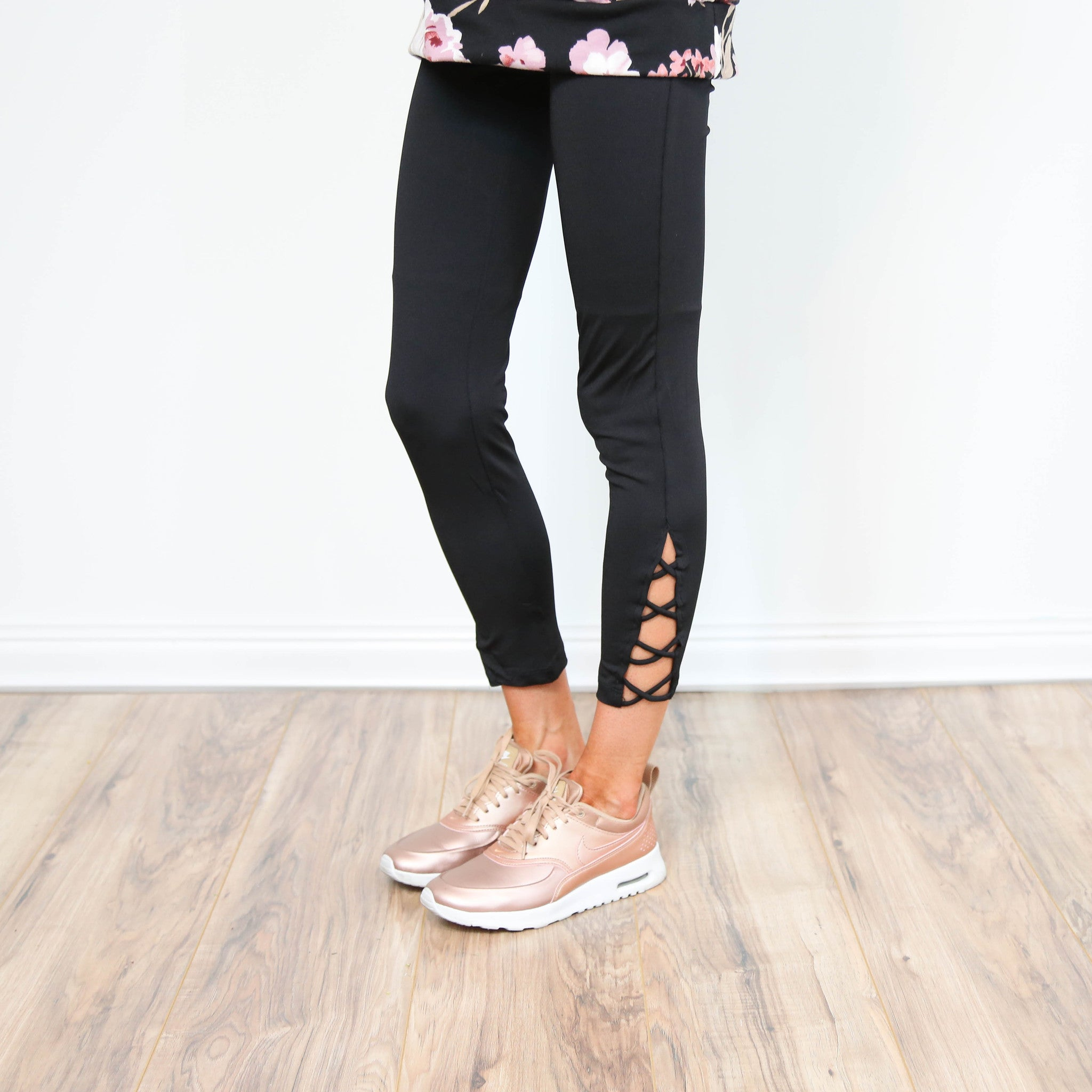 Elevate Black Legging