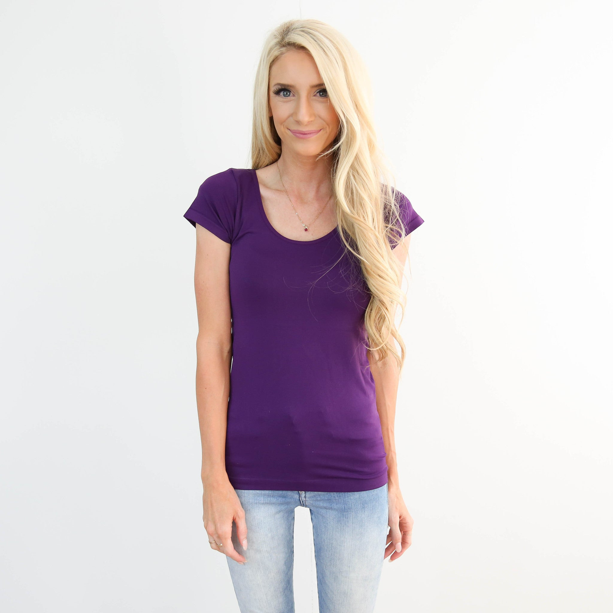 Shade Shirt Plum