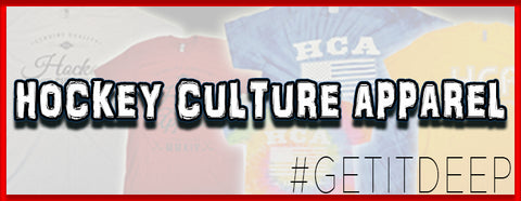 Hockey Culture Apparel - Hockey Lifestyle Brand for Hockey players, by Hockey Players