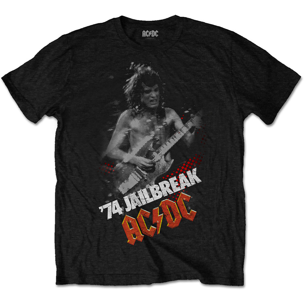 AC/DC Unisex Tee: Jailbreak (Black) - House of Merch