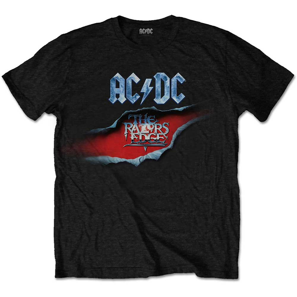 AC/DC Unisex Tee: The Razors Edge (Black) - House of Merch