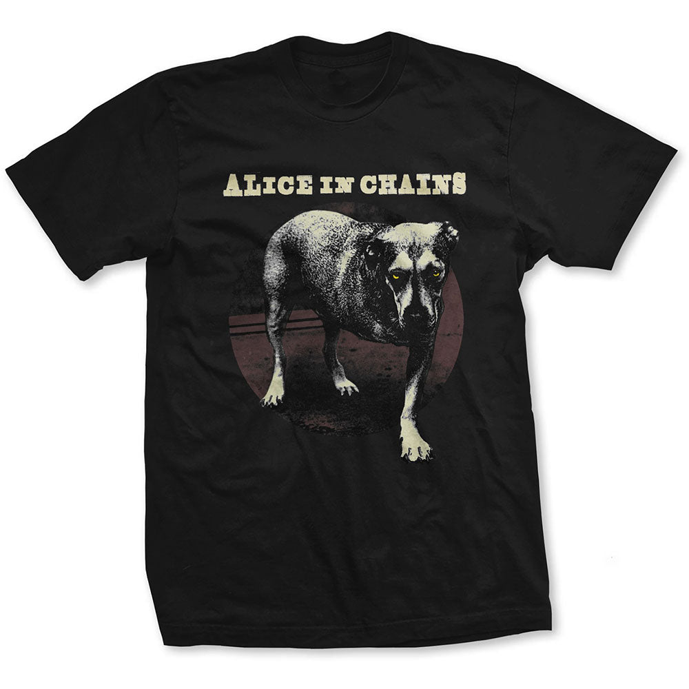 Alice In Chains Unisex Tee: Three Legged Dog (Black) - House of Merch