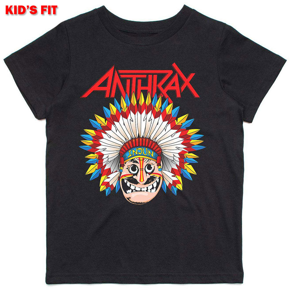 Anthrax Kids Tee: War Dance (13 - 14 Years)