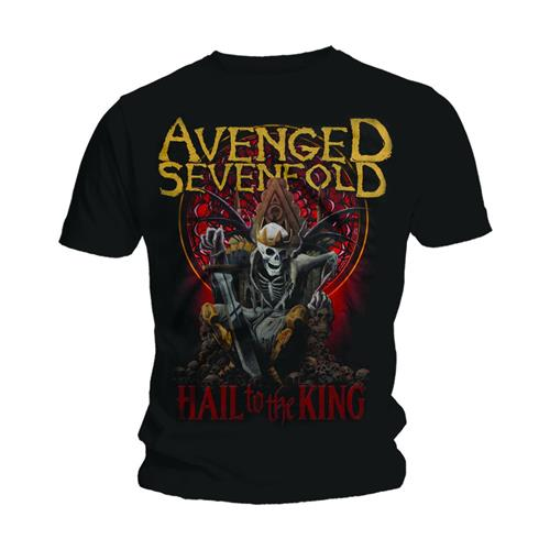 Avenged Sevenfold Unisex Tee: New Day Rises (Black) - House of Merch