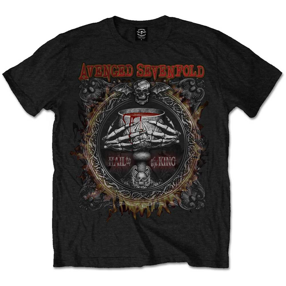 Avenged Sevenfold Unisex Tee: Drink (Black) - House of Merch