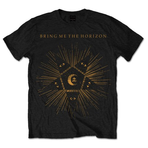 Bring Me The Horizon Unisex Tee: Black Star (Black) - House of Merch