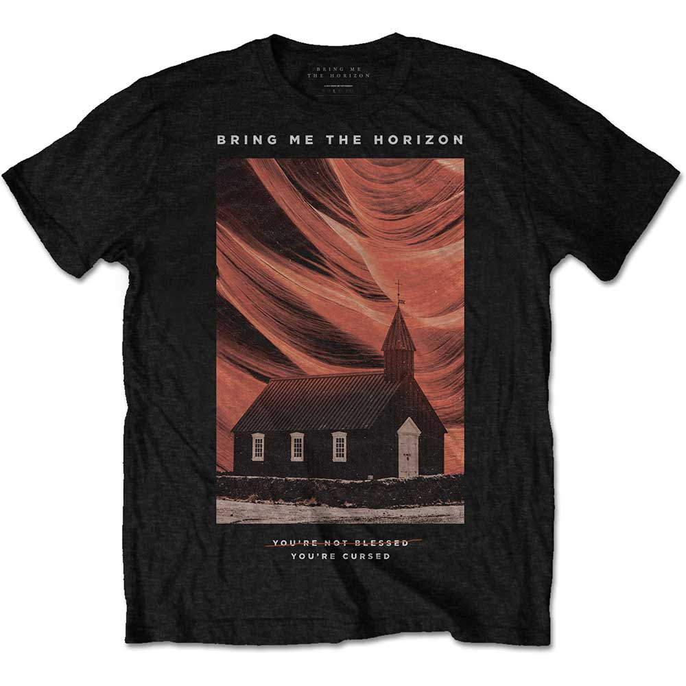 Bring Me The Horizon Unisex Tee: You're Cursed (Black) - House of Merch