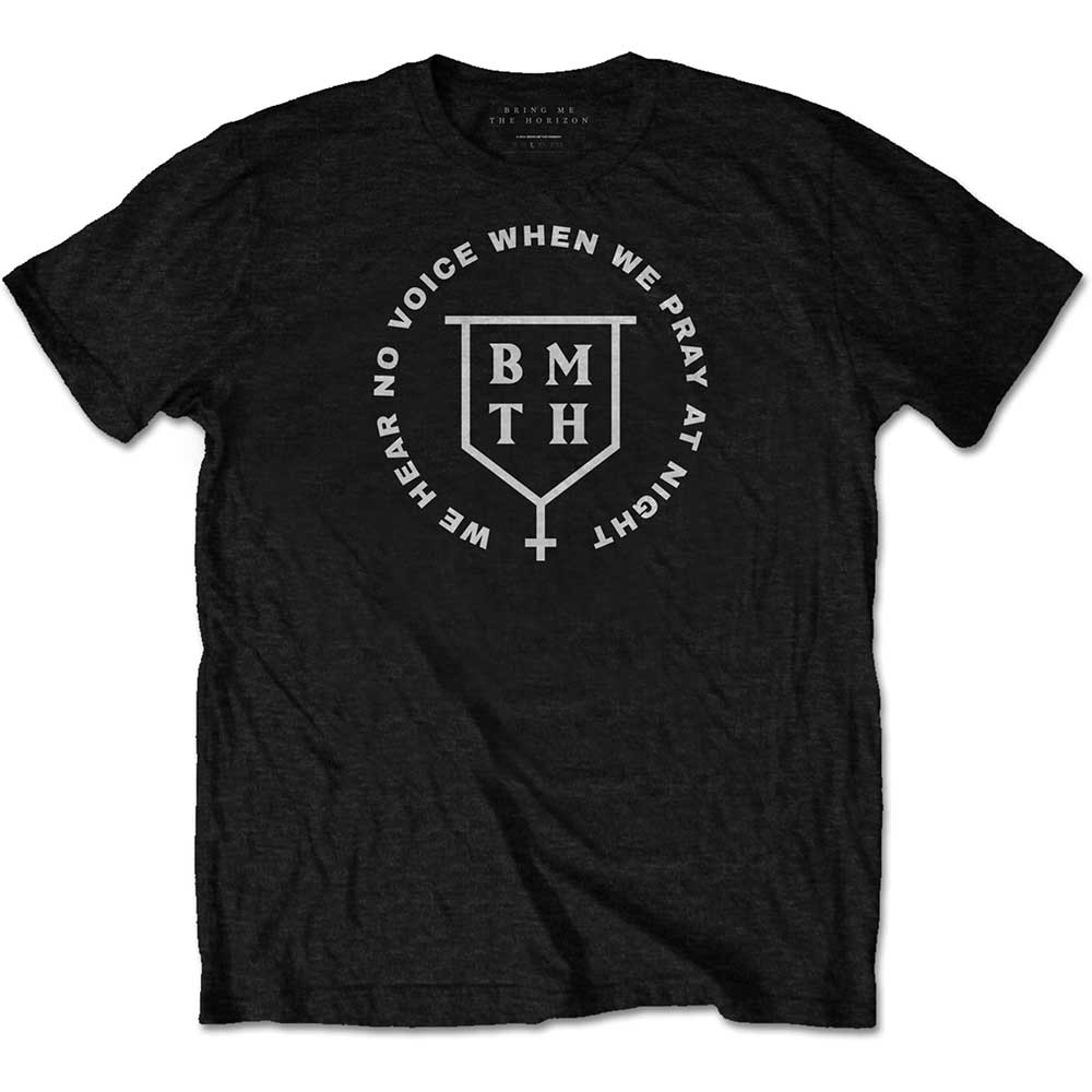 Bring Me The Horizon Unisex Tee: No Voice (Black) - House of Merch