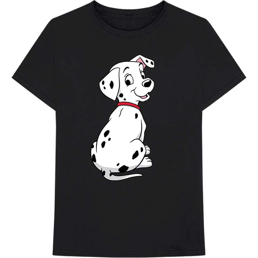 Disney Unisex Tee: 101 Dalmations - Dalmation Pose (Black) - House of Merch