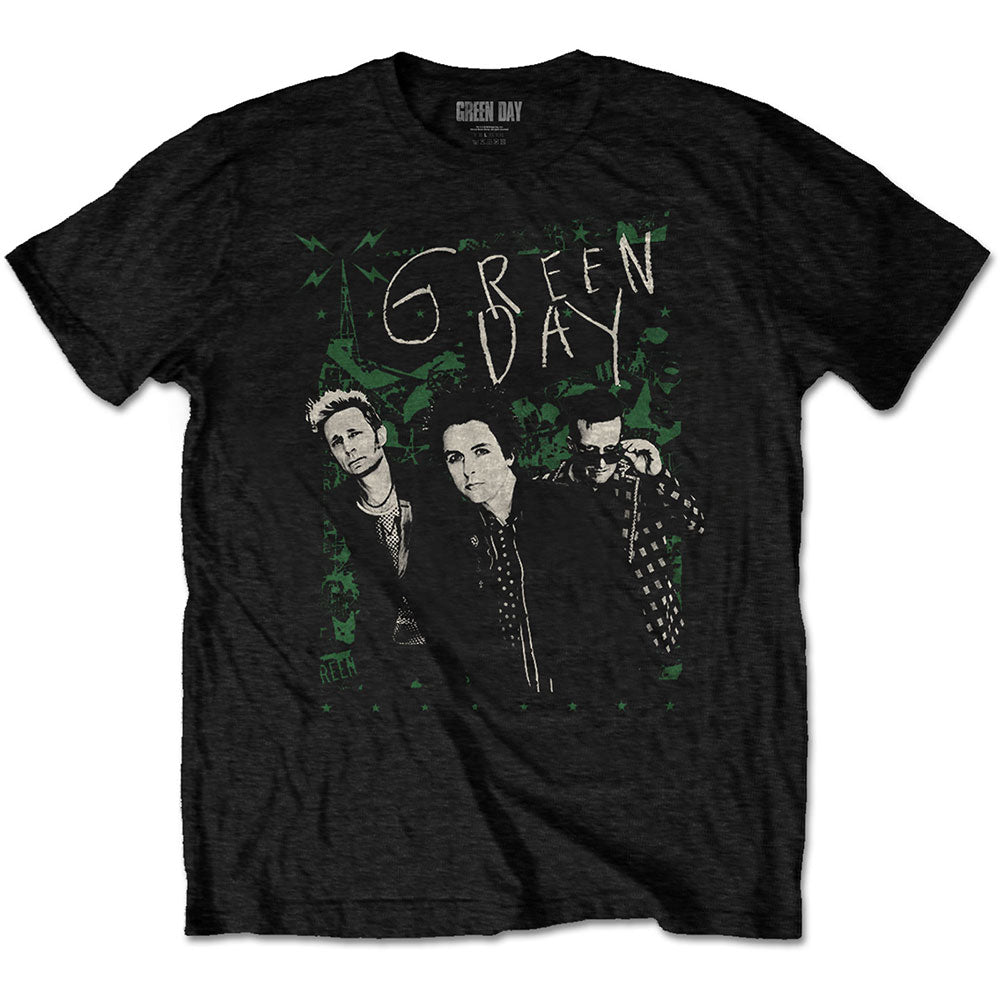 Green Day Unisex Tee: Green Lean (Black) - House of Merch