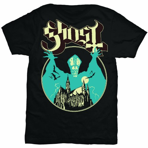 Ghost Unisex Tee: Opus (Black) - House of Merch