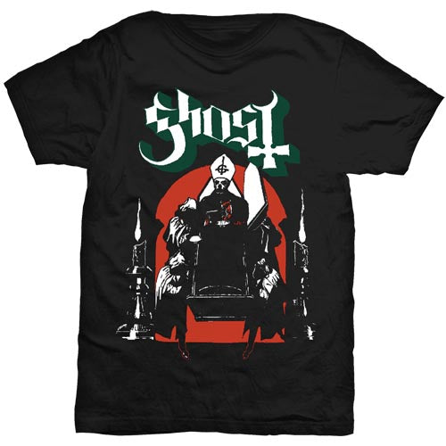 Ghost Unisex Tee: Procession (Black) - House of Merch