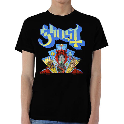 Ghost Unisex Tee: Devil Window (Black) - House of Merch