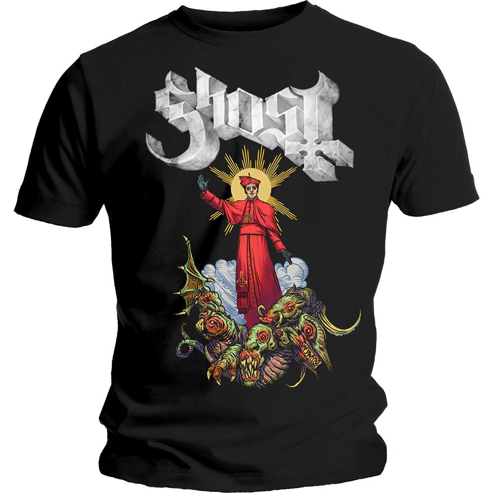 Ghost Unisex Tee: Plague Bringer (Black) - House of Merch