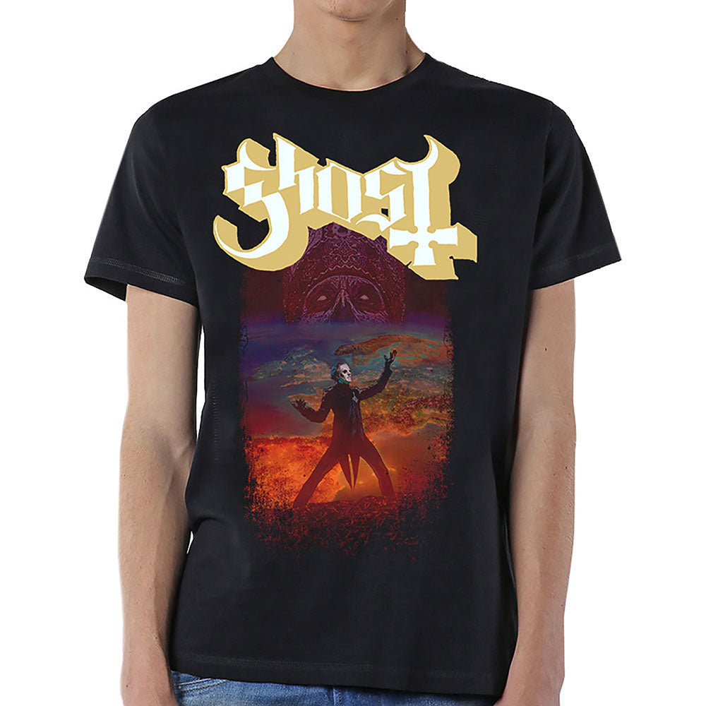 Ghost Unisex Tee: EU Admat (Black) - House of Merch