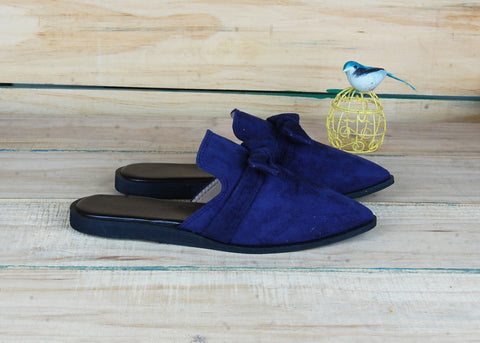 SnugOns Handcrafted Royal Blue Mule