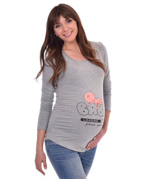 Baby Loading - Long Sleeve Maternity Shirt
