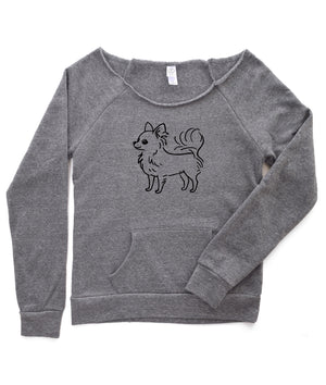 Long Hair Chihuahua Sweatshirt