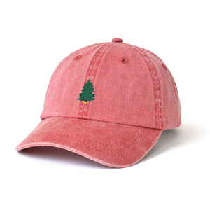 Little Pine Tree Embroidered Hat