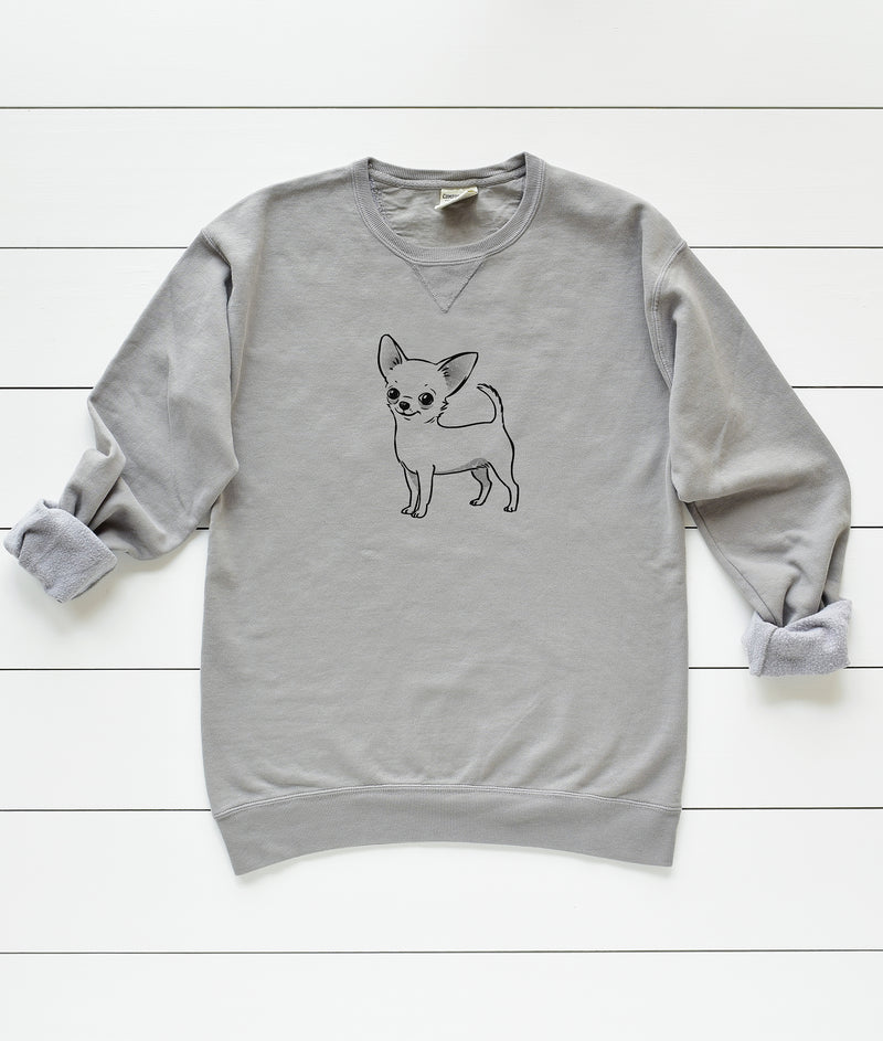 Short Hair Chihuahua Unisex Sweatshirt