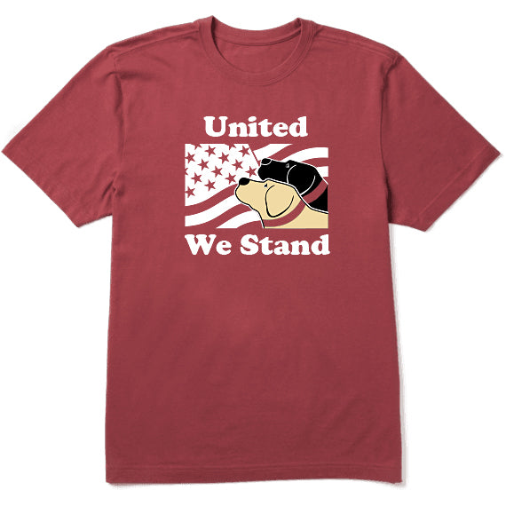 United We Stand Dog Tshirt