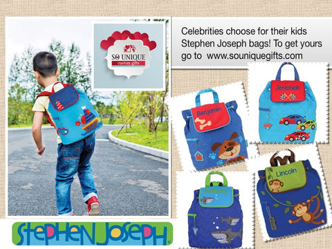 Stephen Joseph kids backpack, boys collections