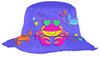 Kids bucket hat Stephen Joseph | Sunkissed Crab Purple