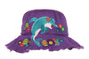 Kids bucket hat Stephen Joseph | Dolphin Purple
