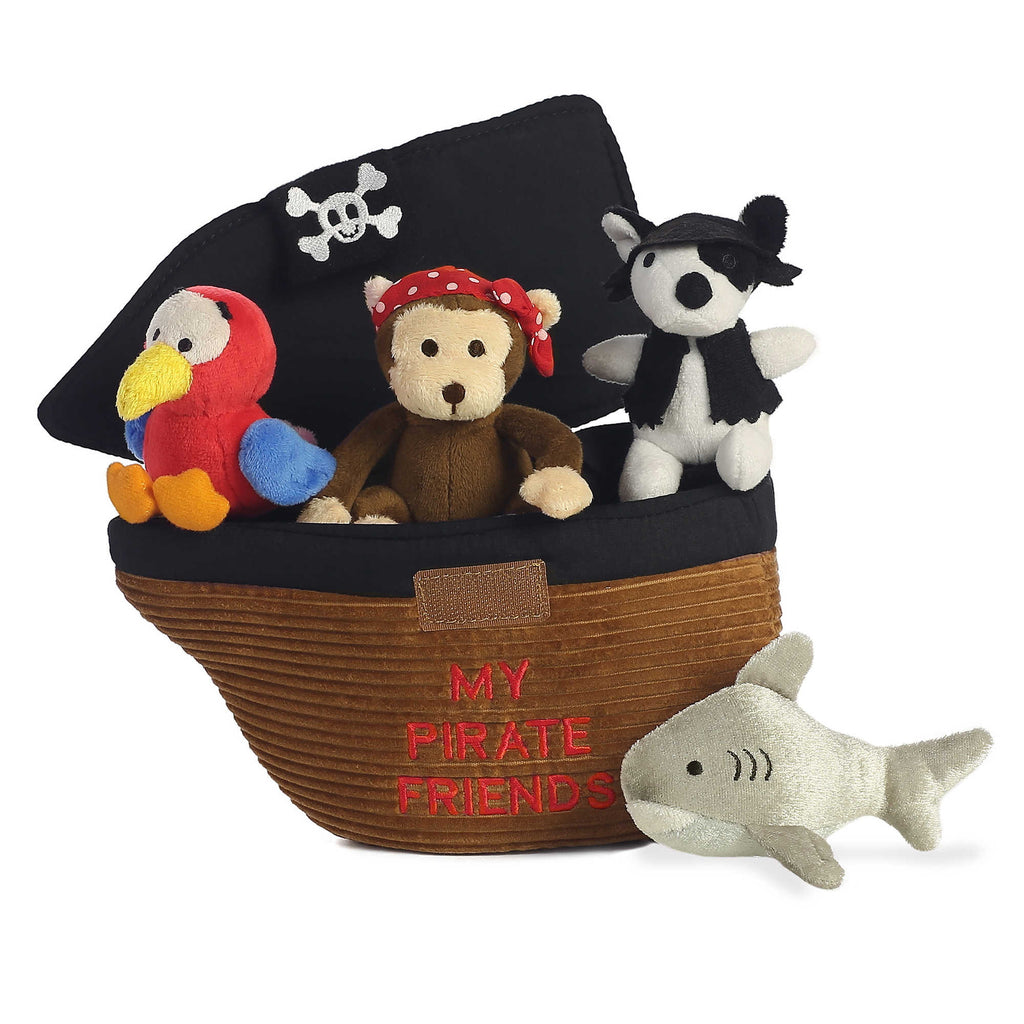 Pirate Animal BABY TALK PLUSH TOY