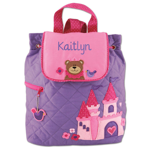 Quilted Backpack Stephen Joseph | Princess Bear