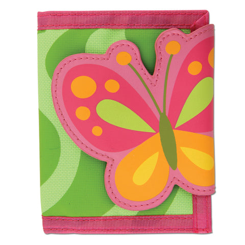 Kids wallet by Stephen Joseph| Butterfly