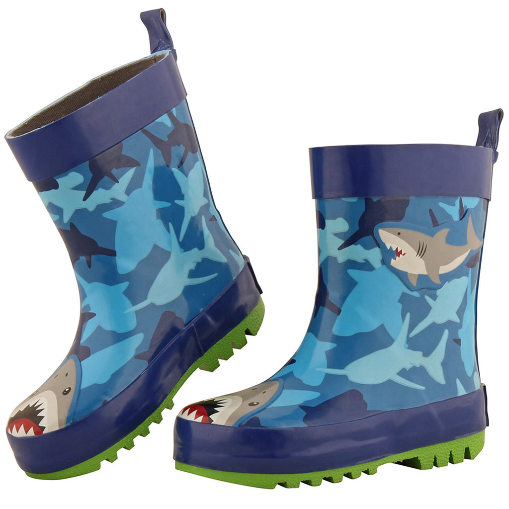 Children's rainboots by Stephen Joseph| Shark