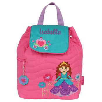 Quilted backpacks Girl Zoo Stephen Joseph