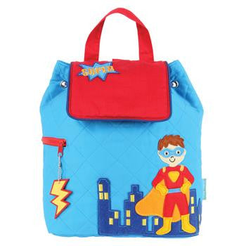 Quilted Backpack Stephen Joseph | Super hero